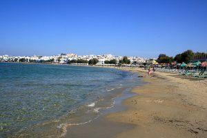 île de Naxos, île des cclades, plage agios georgios