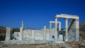 naxos, cyclades, temple de demeter,site archeologique