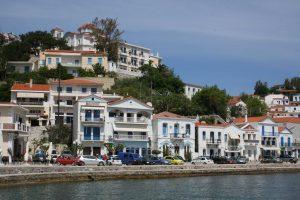 île d'ikaria, île de la mer égée, port evdilos