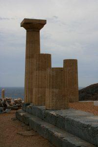 kea, île des Cyclades, site de Karthea