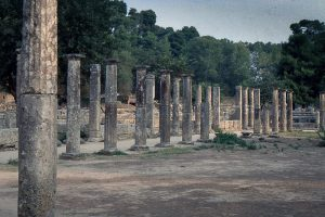 La ville d'Olympie, l'origine des jeux olympiques
