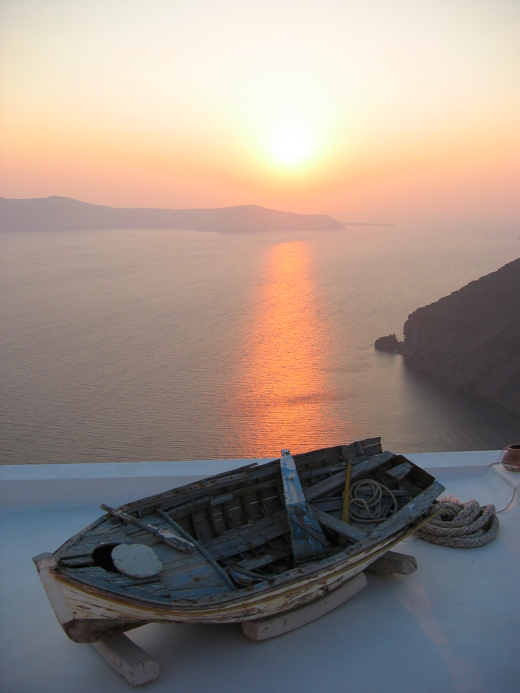 santorin-sunset