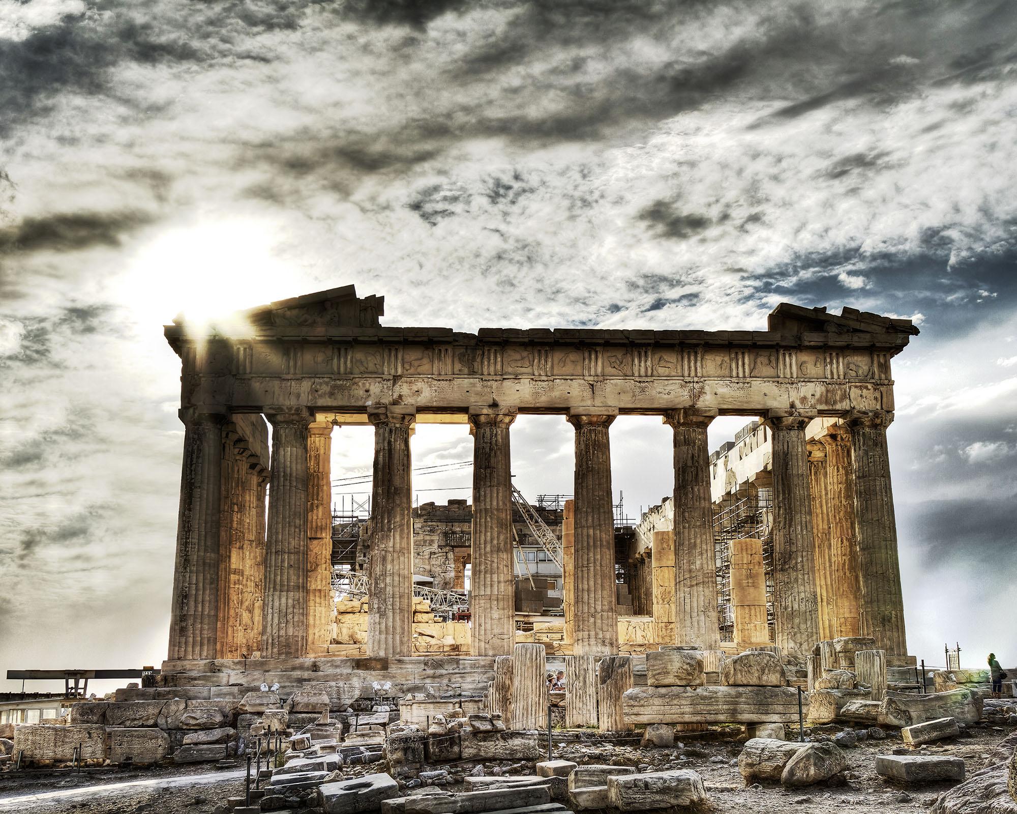 Grèce, Athènes , acropole,