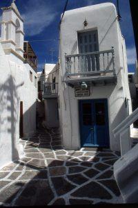 Mykonos; île des Cyclades,