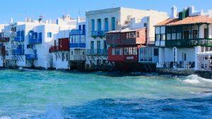 île de Mykonos, les Cyclaldes