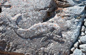 île de Santorin ,Cyclades, site de messa Vouno