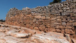 île de Sifnos, île des Cyclades, site archéologique