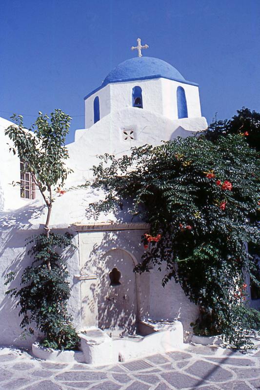 paros, parikia, église byzantine