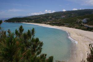 île d'ikaria, île de la mer égée, plage de Ghialiskari