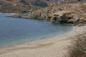 kea,île cyclades, plage koundouros