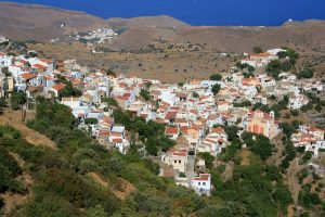 kea, île des cyclades, la chora Ioulis